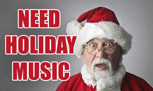 Holiday Music Stations For Your Business